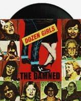 THE DAMNED Dozen Girls Vinyl Record 7 Inch Bronze 1982